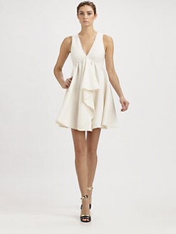 Fendi - Ruffle Front Dress