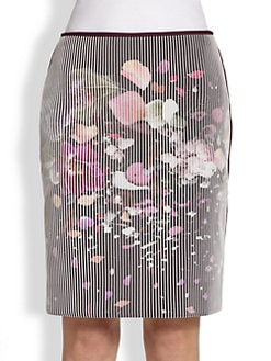Fendi - 3D Flower Explosion Skirt
