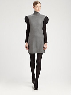 Fendi - Turtleneck Dress