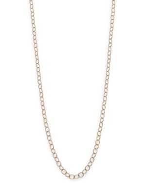 """PHILLIPS HOUSE   Affair 14K Yellow Gold Signature Oval Link Chain/22""""   Goxip"""