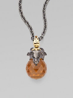 Stephen Webster - Capricorn Astro Pendant Necklace