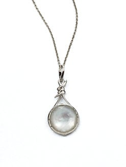 Stephen Webster - Mother-of-Pearl, Clear Quartz and Sterling Silver Necklace