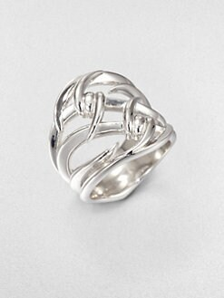 Stephen Webster - Sterling Silver Double Barb Ring