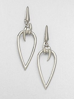 Stephen Webster - Sterling Silver Barb Drop Earrings