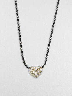 Sydney Evan - Single Heart Charm Necklace