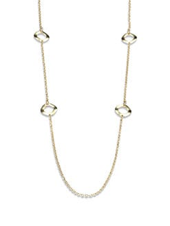 IPPOLITA - 18K Gold Circle Station Necklace