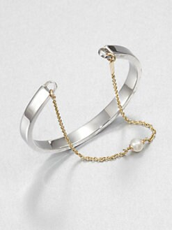 Delfina Delettrez - Two-in-one Cuff Bracelet