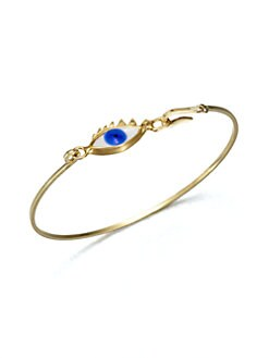 Delfina Delettrez - Eye Bangle Bracelet
