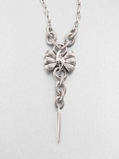 Stephen Webster - Forget Me Knot Bow Pendant Necklace