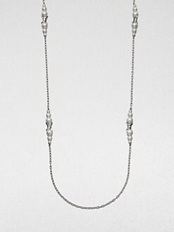 Stephen Webster - Cultured Pearl and Sterling Silver Necklace