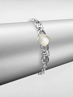 Stephen Webster - Mother-of-Pearl, Clear Quartz and Sterling Silver Bracelet