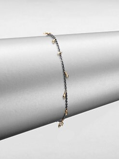 Mizuki - 14K Gold & Sterling Silver Bracelet