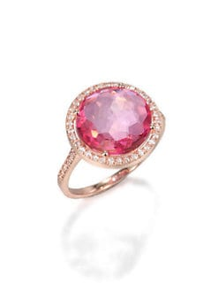 KALAN by Suzanne Kalan - Semi-Precious Multi-Stone & 14K Rose Gold Ring