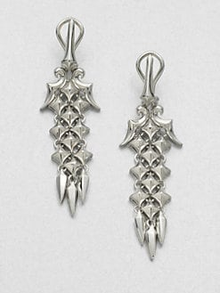 Stephen Webster - Sterling Silver Drop Earrings
