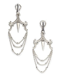 Stephen Webster - Sterling Silver Chandelier Earrings