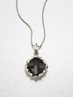 Stephen Webster - Grey Cat's Eye, Clear Quartz Crystal and Sterling Silver Necklace