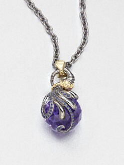 Stephen Webster - Aquarius Crystal Astro Ball Pendant Necklace