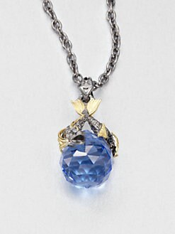 Stephen Webster - Pisces Sapphire Astro Ball Pendant Necklace