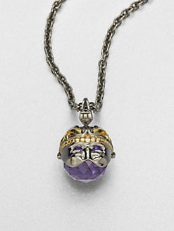 Stephen Webster - Gemini Astro Crystal Ball Pendant Necklace