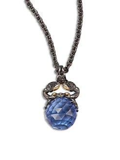 Stephen Webster - Cancer Astro Crystal Ball Pendant Necklace