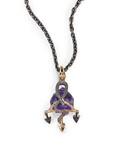 Stephen Webster - Libra Astro Crystal Ball Pendant Necklace