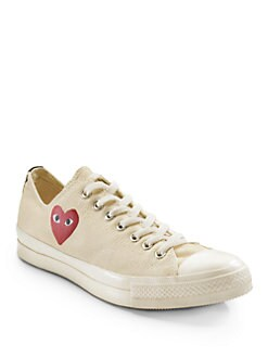 Comme des Garcons - Low-Top Canvas Sneakers