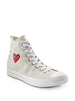 Comme des Garcons - High-Top Canvas Sneakers