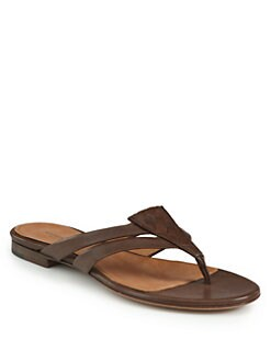 Bottega Veneta - Intrecciato Leather Thong Sandals