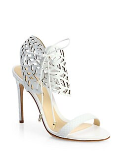 Alexandre Birman - Cutout Python Sandals