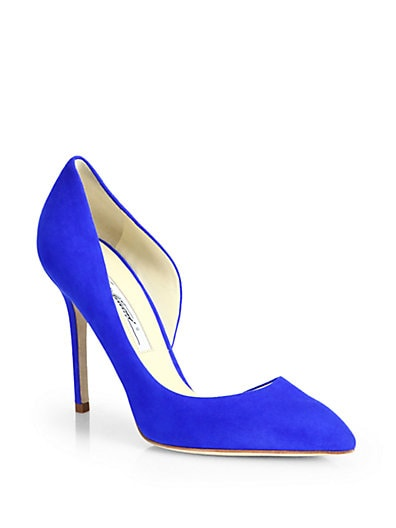 Patty Suede d'Orsay Pumps