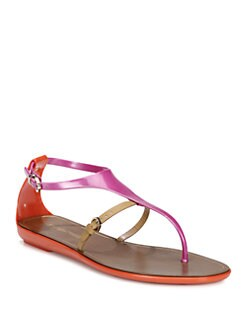 Sergio Rossi - Cleo Jelly Sandals