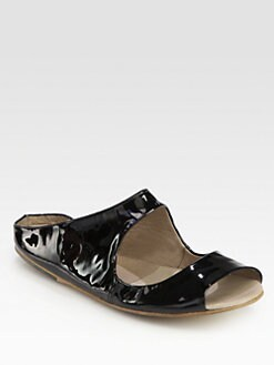 Marsell - Cutout Patent Leather Sandals
