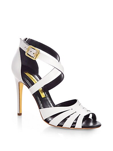 Joan Strappy Leather Sandals