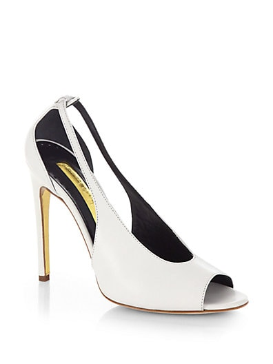 Olaf Leather Pumps