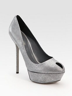 Sergio Rossi - Cachet Pressed-Suede Pumps