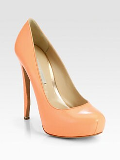 Nicholas Kirkwood - Leather Platform Pumps