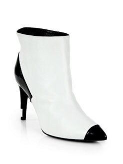 Pierre Hardy - Leather Cap-Toe Ankle Boots