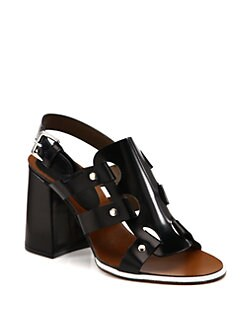 Marni - Leather Singback Sandals