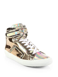 Pierre Hardy - Disco High-Top Platform Sneakers