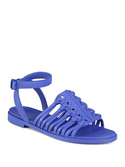 Givenchy - Jelly Ankle Strap Sandals