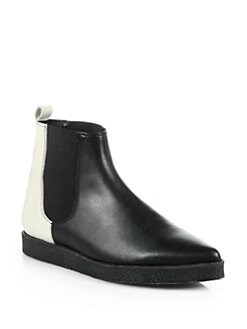 Pierre Hardy - Bicolor Leather Chelsea Boots