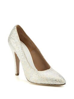 Maison Martin Margiela - Textured Glitter Pumps