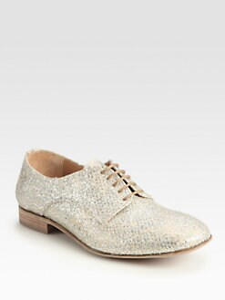 Maison Martin Margiela - Glitter Lace-Up Oxfords