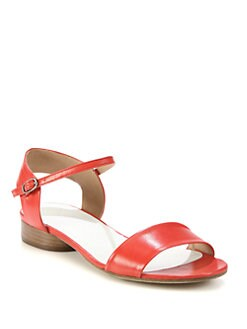 Maison Martin Margiela - Leather Ankle Strap Sandals