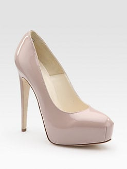 Brian Atwood - Maniac 140 Patent Leather Platform Pumps