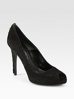 Alexander McQueen - Studded Suede Pumps