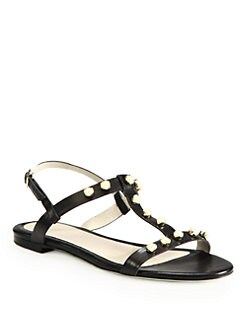 Jason Wu - Isabella Studded Leather Sandals