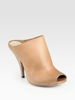 Elisanero - Leather Mules