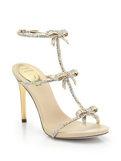 Jewels Lace, Rene Caovilla, Fashion, Caovilla Jewels, Cinderella Shoes, Halter Pumps, Lace Halter, Bergdorf Goodman, Neiman Marcus