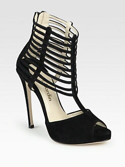Max Kibardin - Amata Suede Platform Sandals